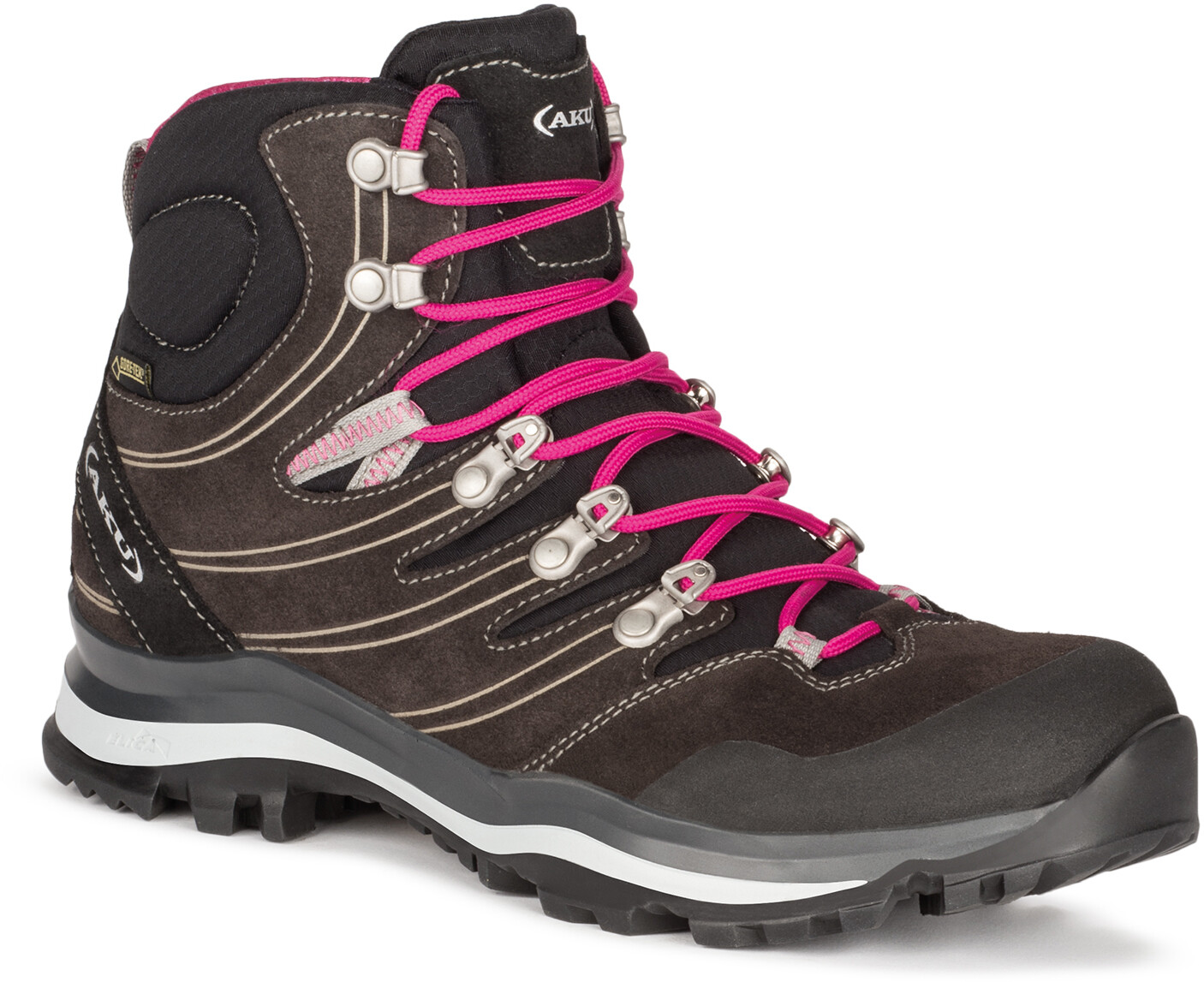 Women Alterra Gtx Anthracite Shoes Aku Magenta j3R54AL
